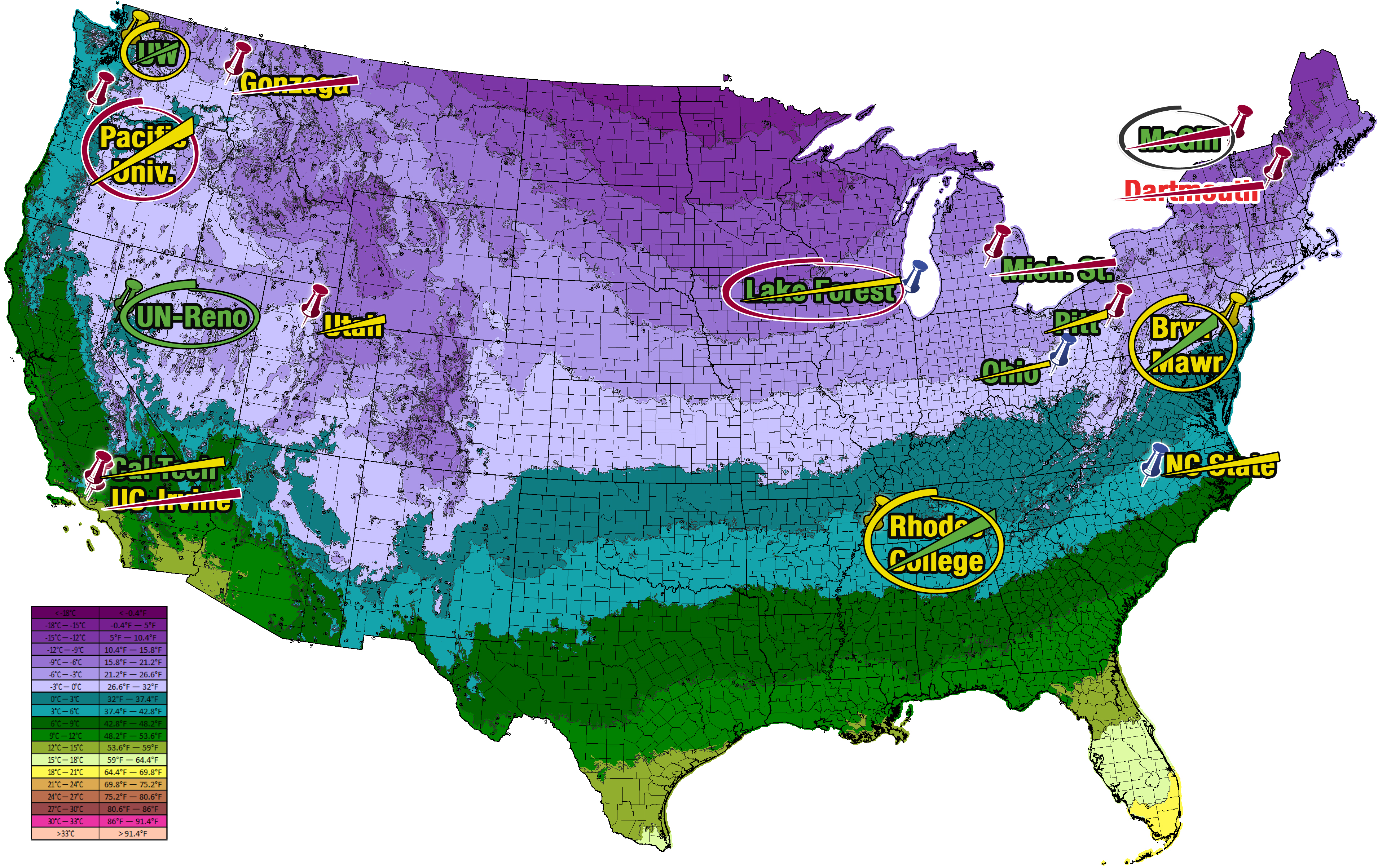 Recordshattering December Catapults US To Its Second Warmest - Us weather map live